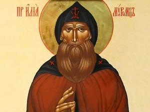 День преподобного Илии, чудотворца Муромского