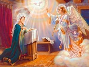 Благовещение Девы Марии (западный обряд)