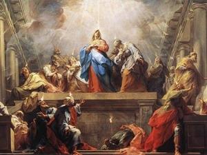 Пятидесятница у западных христиан, День Святого Духа