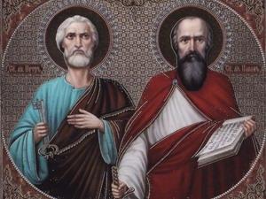 Праздник славных и всехвальных первоверховных апостолов Петра и Павла (восточный обряд)