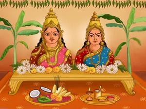 Jyeshtha Gauri Puja