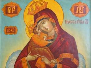 Празднование в честь Почаевской иконы Божией Матери (1675)