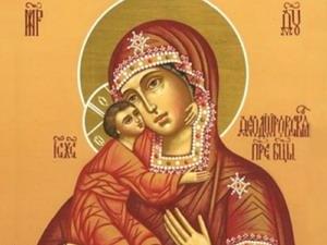 Празднование в честь иконы Божьей Матери Феодоровской
