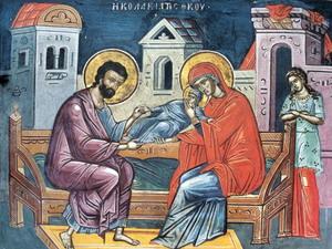 Память праведных Богоотцов Иоакима и Анны