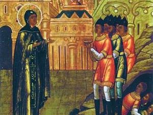 Прославление преподобной Ефросинии Суздальской