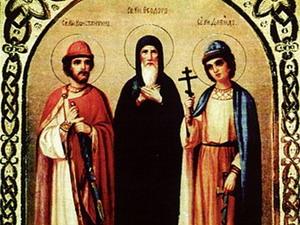 Память благоверных князей Феодора Смоленского и чад его Давида и Константина