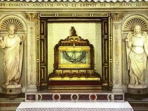 Поклонение честным веригам святого и всехвального апостола Петра