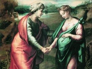 Посещение Девой Марией Елизаветы