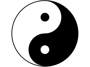Yin and yang: chinese (eastern) horoscope