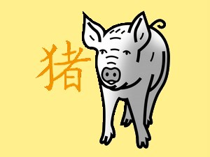 Pig: chinese (eastern) horoscope